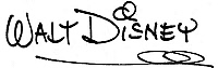 0084790 © Granger - Historical Picture ArchiveWALT DISNEY (1901-1966).   American motion-picture cartoon producer. Autograph signature.