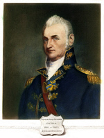 0046401 © Granger - Historical Picture ArchiveHENRY DEARBORN (1751-1829).   American army officer and politician. As a major general in the War of 1812. Oil on canvas after Gilbert Stuart.
