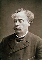 0063986 © Granger - Historical Picture ArchiveALEXANDRE DUMAS (1824-1895).   Known as Dumas fils. French novelist and playwright. Original cabinet photograph by Nadar.