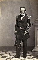 0173180 © Granger - Historical Picture ArchiveANDREW HULL FOOTE   (1806-1863). American naval officer. Photograph, c1861.