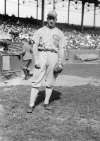 0324281 © Granger - Historical Picture ArchiveHAPPY FELSCH (1891- 1964).   Oscar Emil Felsch. American baseball player, banned from the Major Leagues for his involvement with the 1919 Black Sox Scandal. Photograph, 1920.