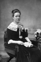 0354340 © Granger - Historical Picture ArchiveMILLICENT FAWCETT (1847-1929).   British suffragist and feminist. Photograph by W. & D. Downey, c1890.