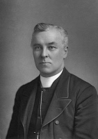 0354382 © Granger - Historical Picture ArchiveJAMES FLEMING (1830-1908).   Irish clergyman and Canon of York Cathedral. Photograph by W. & D. Downey, c1891.