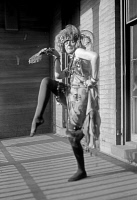 0526780 © Granger - Historical Picture ArchiveFREYTAG-LORINGHOVEN, c1925.   Baroness Elsa von Freytag-Loringhoven (1874-1927). German artist and poet. Photograph, c1925.