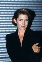 0621864 © Granger - Historical Picture ArchiveCARRIE FISHER (1956-2016).   American actress. Photograph, 10 October 1995. Full Credit: ullstein bild - Galuschka / Granger, NYC. All Rights Reserved.