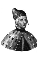 0622769 © Granger - Historical Picture ArchiveFRANCESCO FOSCARI   (1373-1457). Doge of Venice, 1423-1457. Engraving, c1869.