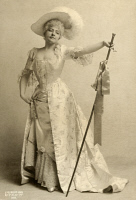 0526513 © Granger - Historical Picture ArchiveBERTHA GALLAND (1876-1932).   American actress. As Lady Teazle in 'The School for Scandal.' Photographed by J.B. Falk, 1903.