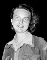 0620027 © Granger - Historical Picture ArchiveGENEVIEVE DE GALARD   (1925- ). Known as 'the Angel of Dien Bien Phu.' French nurse. Upon arrival in French-held Hanoi after her release from Vietminh capitivity. Photograph, 1954.