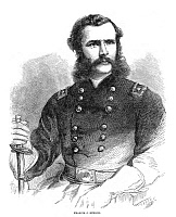 0322997 © Granger - Historical Picture ArchiveFRANCIS JAY HERRON   (1837-1902). Union army general. Wood engraving, American, 1866.