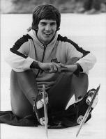 0623382 © Granger - Historical Picture ArchiveERIC HEIDEN (1958- ).   American Olympic speed skater. Photograph, 22 December 1980. Full Credit: ullstein bild - Rzepka / Granger, NYC. All Rights Reserved.