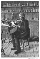 0006241 © Granger - Historical Picture ArchiveTHOMAS EDISON (1847-1931).   American inventor. Wood engraving after a photograph.