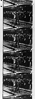 0121784 © Granger - Historical Picture ArchiveEDISON: FILM STRIP, 1903.   Sequence from the film 'The Great Train Robbery' made by the Edison Company in 1903.