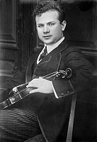 0122228 © Granger - Historical Picture ArchiveMISCHA ELMAN (1891-1967).   American (Ukrainian-born) violinist. Photograph, early 20th century.