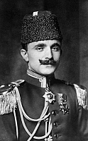0012621 © Granger - Historical Picture ArchiveENVER PASHA (1881?-1922).   Turkish soldier and leader of the Young Turk movement. German photo postcard published during World War I.