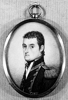 0028914 © Granger - Historical Picture ArchiveMATTHEW FLINDERS   (1774-1814). English mariner and hydrographer. Miniature on ivory.
