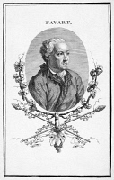 0070604 © Granger - Historical Picture ArchiveCHARLES SIMON FAVART   (1710-1792). French playwright. Etching, French, 19th century.