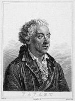 0070605 © Granger - Historical Picture ArchiveCHARLES SIMON FAVART   (1710-1792). French playwright. Etching, French, 19th century.