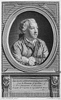 0070606 © Granger - Historical Picture ArchiveCHARLES SIMON FAVART   (1710-1792). French playwright. Copper engraving, French, 18th century.