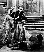 0069581 © Granger - Historical Picture ArchiveDOUGLAS FAIRBANKS   (1883-1939). American cinemactor. Fairbanks and Mary Pickford in 'The Taming of the Shrew,' 1929.