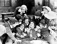 0069584 © Granger - Historical Picture ArchiveDOUGLAS FAIRBANKS   (1883-1939). American cinemactor. Fairbanks in a scene from 'The Three Musketeers,' 1921.