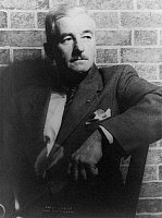 0121706 © Granger - Historical Picture ArchiveWILLIAM FAULKNER (1897-1962).   American writer. Photograph, 1954.