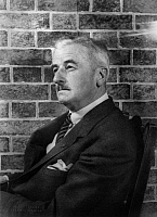 0121708 © Granger - Historical Picture ArchiveWILLIAM FAULKNER (1897-1962).   American writer. Photograph, 1954.