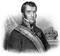 0063987 © Granger - Historical Picture ArchiveFERDINAND VII (1784-1833).   King of Spain, March-May 1808; 1814-1833. Line-and-stipple engraving, English, 1824.