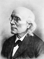 0049501 © Granger - Historical Picture ArchiveGUSTAV THEODOR FECHNER (1801-1887).   German physicist, philosopher, and experimental psychologist.