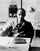 0120908 © Granger - Historical Picture ArchiveENRICO FERMI (1901-1954).   Italian physicist. Photograph, early 20th century.