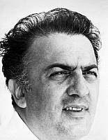 0038999 © Granger - Historical Picture ArchiveFEDERICO FELLINI (1920-1993).   Italian film director. Photographed in 1963.