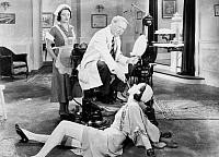 0016576 © Granger - Historical Picture ArchiveW.C. FIELDS (1879-1946).   American comedian. W.C. Fields in 'The Dentist,' 1932.