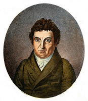 0037809 © Granger - Historical Picture ArchiveJOHANN GOTTLIEB FICHTE  (1762-1814). German philosopher. Aquatint engraving after the painting, 1808, by H. Daehling.