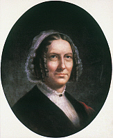 0048272 © Granger - Historical Picture ArchiveABIGAIL FILLMORE (1798-1853).   Wife of President Millard Fillmore. Oil by an unknown artist.