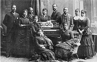 0030180 © Granger - Historical Picture ArchiveTHE FISK JUBILEE SINGERS.  Photographed in 1880.