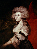0020787 © Granger - Historical Picture ArchiveMARIA ANNE FITZHERBERT   (1756-1837). Née Smythe. Wife of the Prince of Wales, the future King George IV of England. Oil on canvas, c1788, by Sir Joshua Reynolds.