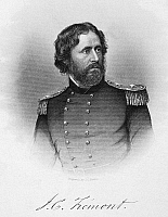 0017887 © Granger - Historical Picture ArchiveJOHN C. FREMONT (1813-1890).   American soldier and explorer. Line and stipple engraving, 19th century.