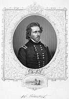 0017889 © Granger - Historical Picture ArchiveJOHN C. FREMONT (1813-1890).   American soldier and explorer. Steel engraving, American, 1863.