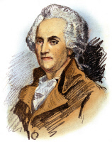 0066516 © Granger - Historical Picture ArchiveWILLIAM FRANKLIN (1731-1813).   American colonial administrator: colored pencil drawing by Albert Rosenthal after a contemporary portrait.