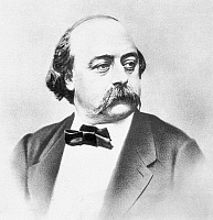 0005132 © Granger - Historical Picture ArchiveGUSTAVE FLAUBERT (1821-1880).   French novelist. Photographed by Nadar.