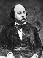 0006323 © Granger - Historical Picture ArchiveGUSTAVE FLAUBERT (1821-1880).   French novelist.