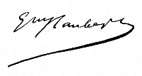 0045229 © Granger - Historical Picture ArchiveFLAUBERT SIGNATURE.   Autograph signature of French novelist Gustave Flaubert (1821-1880).