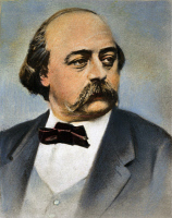 0046431 © Granger - Historical Picture ArchiveGUSTAVE FLAUBERT   (1821-1880). French novelist. Oil over a photograph by Nadar.