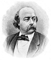 0068640 © Granger - Historical Picture ArchiveGUSTAVE FLAUBERT (1821-1880).   French novelist. Line engraving, German, after a photograph by Nadar.