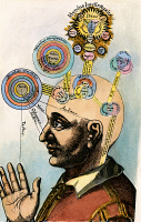0010479 © Granger - Historical Picture ArchiveROBERT FLUDD (1574-1637).   English physician and Rosicrucian. Human mental abilities classified in terms of God and the universe. Colored engraving from Fludd's 17th century treatise, 'Utriusque Cosmi.'