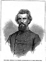0031292 © Granger - Historical Picture ArchiveNATHAN BEDFORD FORREST   (1821-1877). American army officer. Wood engraving, American, 1865.
