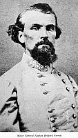 0031294 © Granger - Historical Picture ArchiveNATHAN BEDFORD FORREST   (1821-1877). American army officer. Photographed c1864.