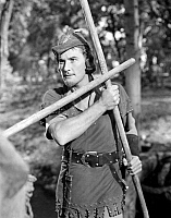 0013919 © Granger - Historical Picture ArchiveERROL FLYNN (1909-1959).   Australian actor. Flynn in the title role of 'The Adventures of Robin Hood,' 1938.