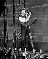 0040983 © Granger - Historical Picture ArchiveERROL FLYNN (1909-1959).   Australian actor. Flynn in the title role of 'The Sea Hawk,' a 1940 film based on Rafael Sabatini's novel.