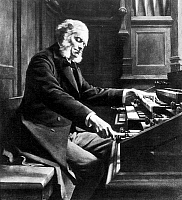 0000325 © Granger - Historical Picture ArchiveCESAR FRANCK (1822-1890).   Belgian-French organist and composer.