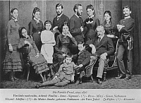0011956 © Granger - Historical Picture ArchiveSIGMUND FREUD (1856-1939).   Freud (third from left, standing) with his family in 1876.